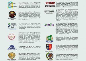Partenaires du groupe sup'management